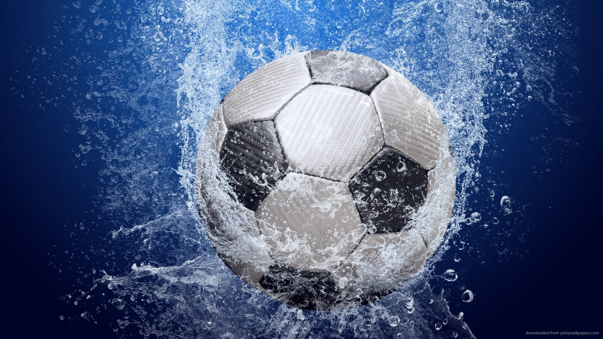 Soccer Balls On Water 4