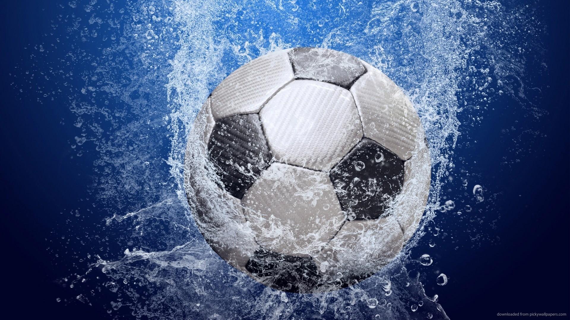 Soccer Balls On Water 4