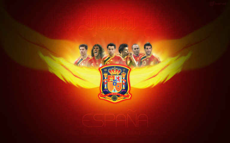 Spain Football Wallpaper 1 768×480