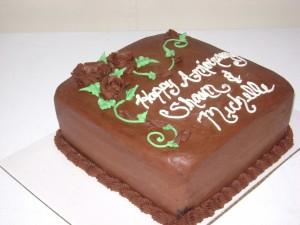 Square Chocolate Cake Designs 1 300×225