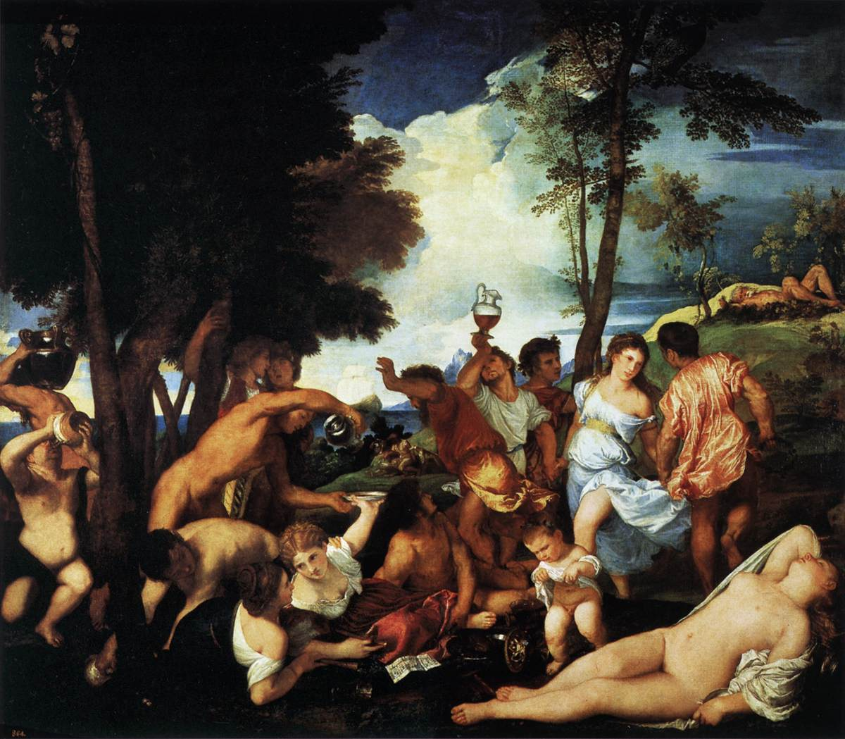 The Bacchanal of the Andrians