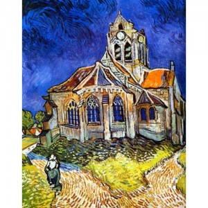 The Church at Auvers 300×300