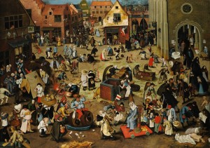 The Fight Between Carnival and Lent 300×211