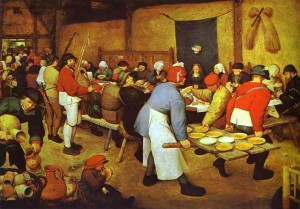 The Peasant Wedding 300×209