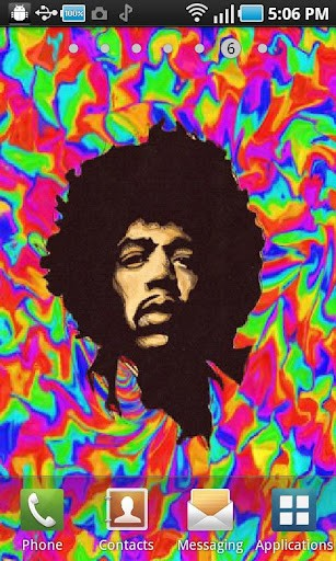 Trippy Jimi Hendrix Wallpaper 3