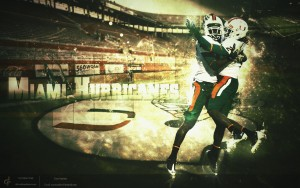 University Of Miami Football Wallpaper 3 300×188