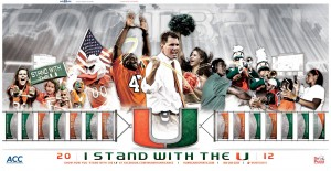 University Of Miami Football Wallpaper 4 300×155