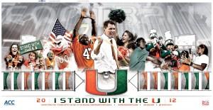University Of Miami Football Wallpaper 4 300×155