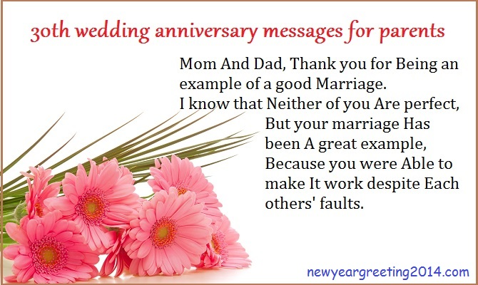 Wedding Anniversary Wishes For Parents 5