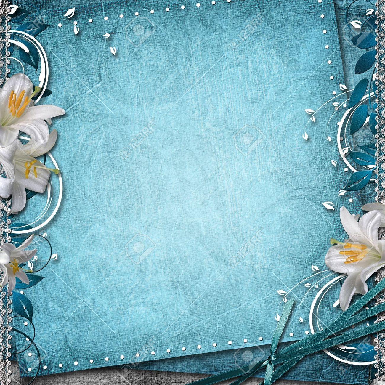 Blue wedding background design hd clipartsgram com -  Wedding Invitation Background Wallpaperwedding Invitation Sample Pics Photoswedding Backgrounds Blue