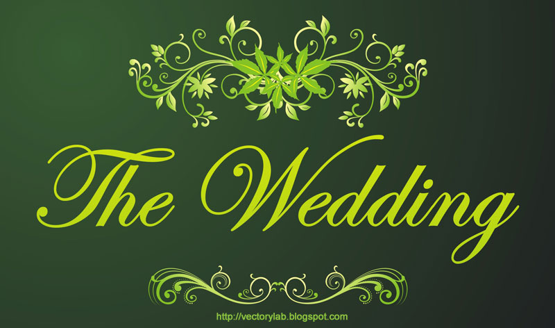 Wedding Invitation Background Designs Free Download Green 3