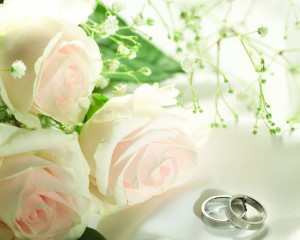 Wedding Ring Background Green 300×240