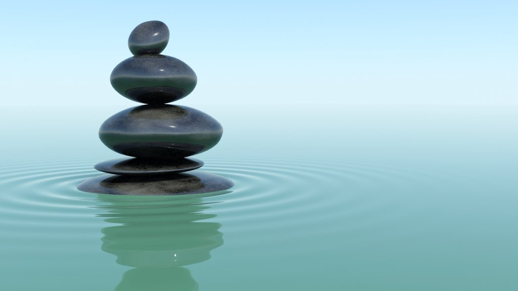 Zen Water Wallpaper 1