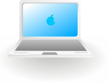 apple laptop computer clipart