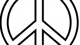 Black And White Peace Symbol Backgrounds 4