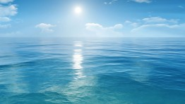 Blue Ocean Background 4