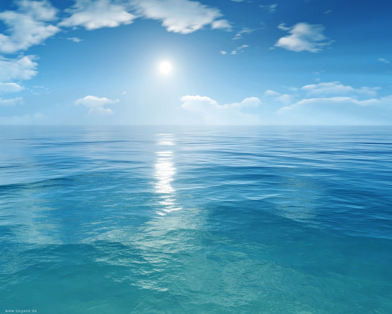 Blue Ocean Background 4