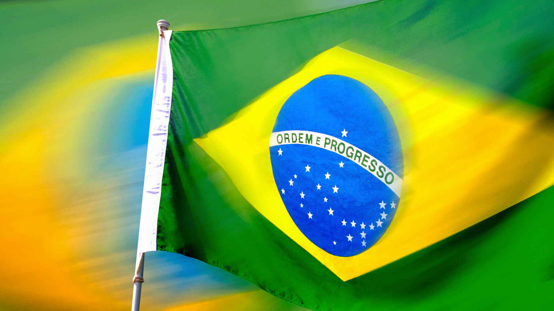 Brazil Flag Wallpaper Desktop 2