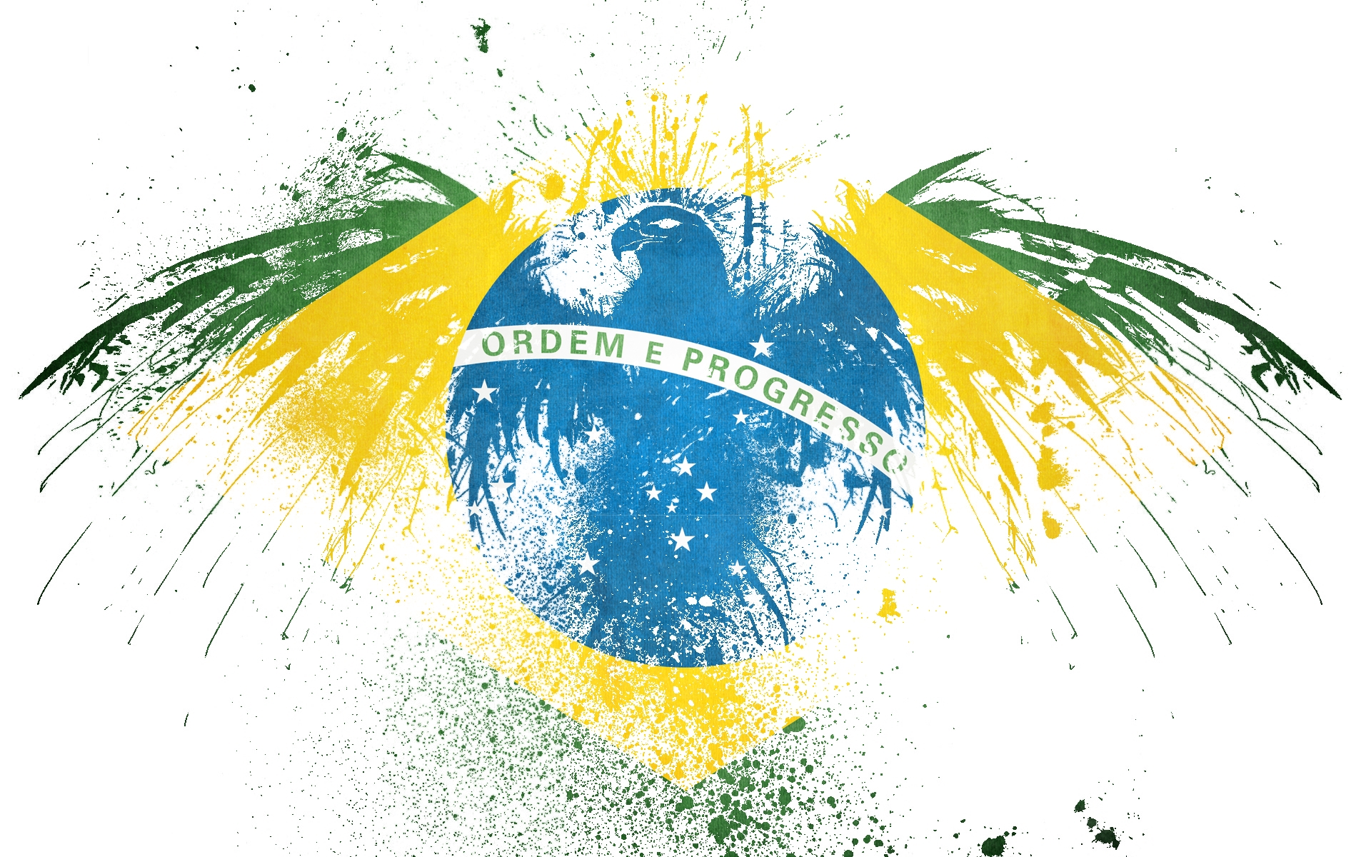 Brazil Flag Wallpaper Desktop 8