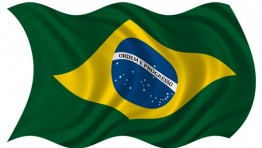 Brazil Flag Waving 3