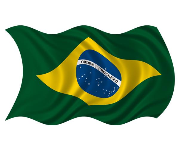 Brazil Flag Waving 3