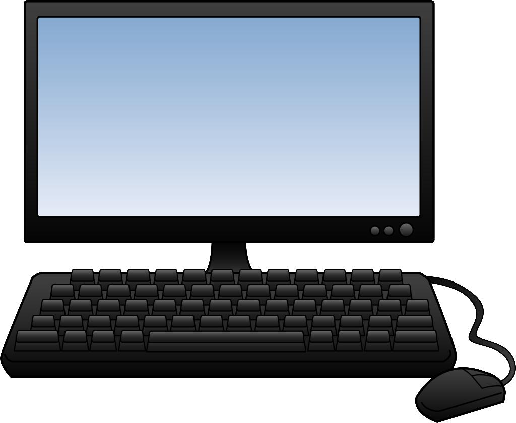 Desktop Computer Clipart 2