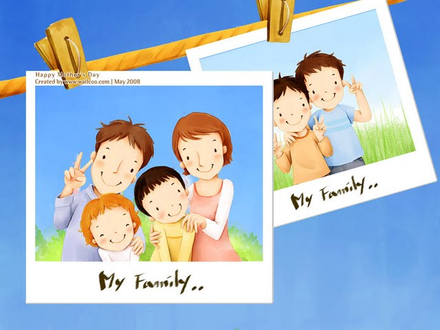 Happy Family Day Wallpaper 2
