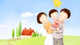 Happy Family Day Wallpaper