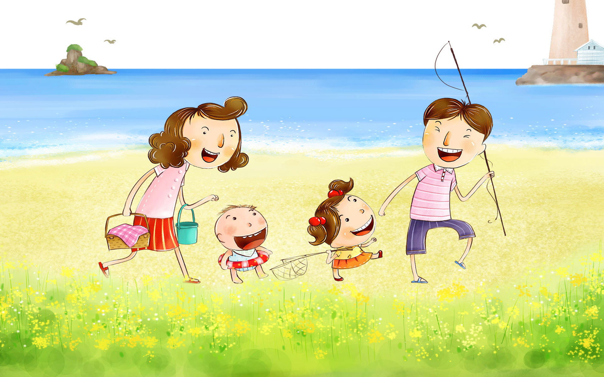Happy Family Day Wallpaper 8