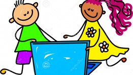 Laptop Computer Clipart For Kids 3