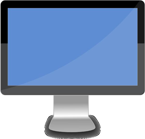 Mac Computer Screen Clipart 1