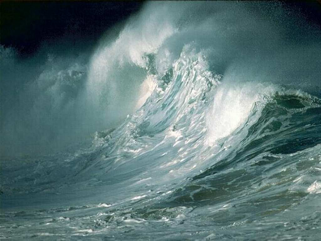 Ocean Storm Wallpaper