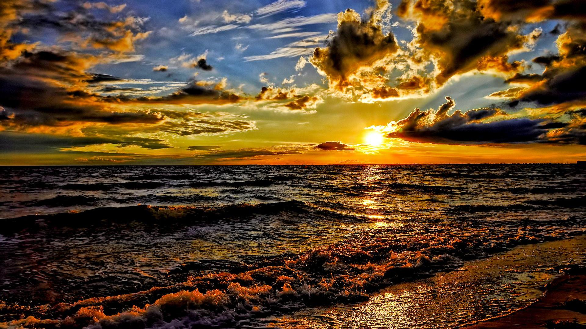 pics photos ocean sunrise hd wallpaper background ocean