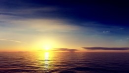 Ocean Sunrise Wallpaper