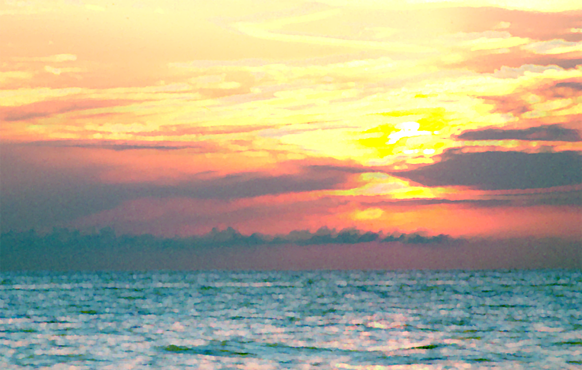 Ocean Sunset Wallpaper Tumblr 1