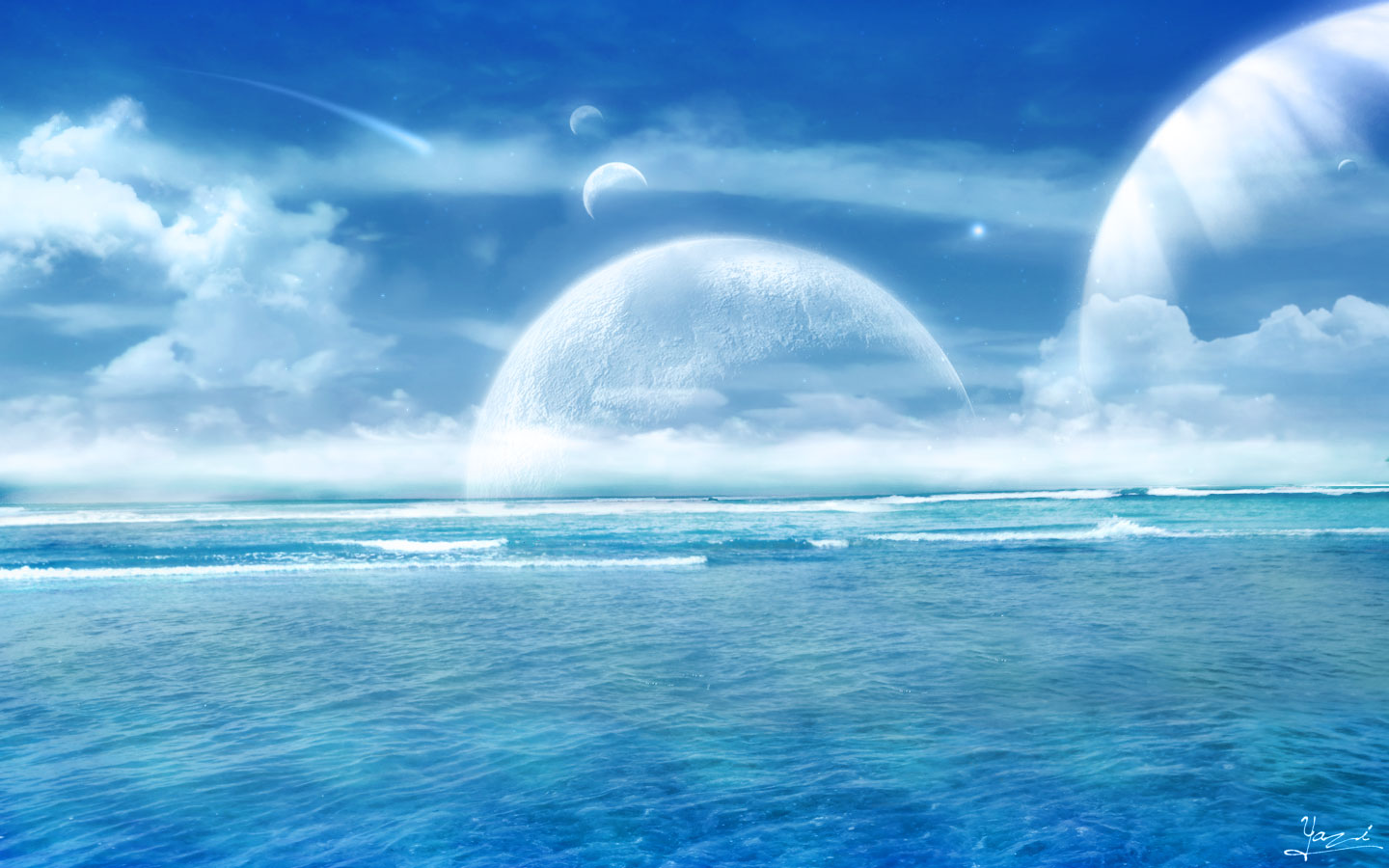 Ocean Wallpaper Widescreen 3