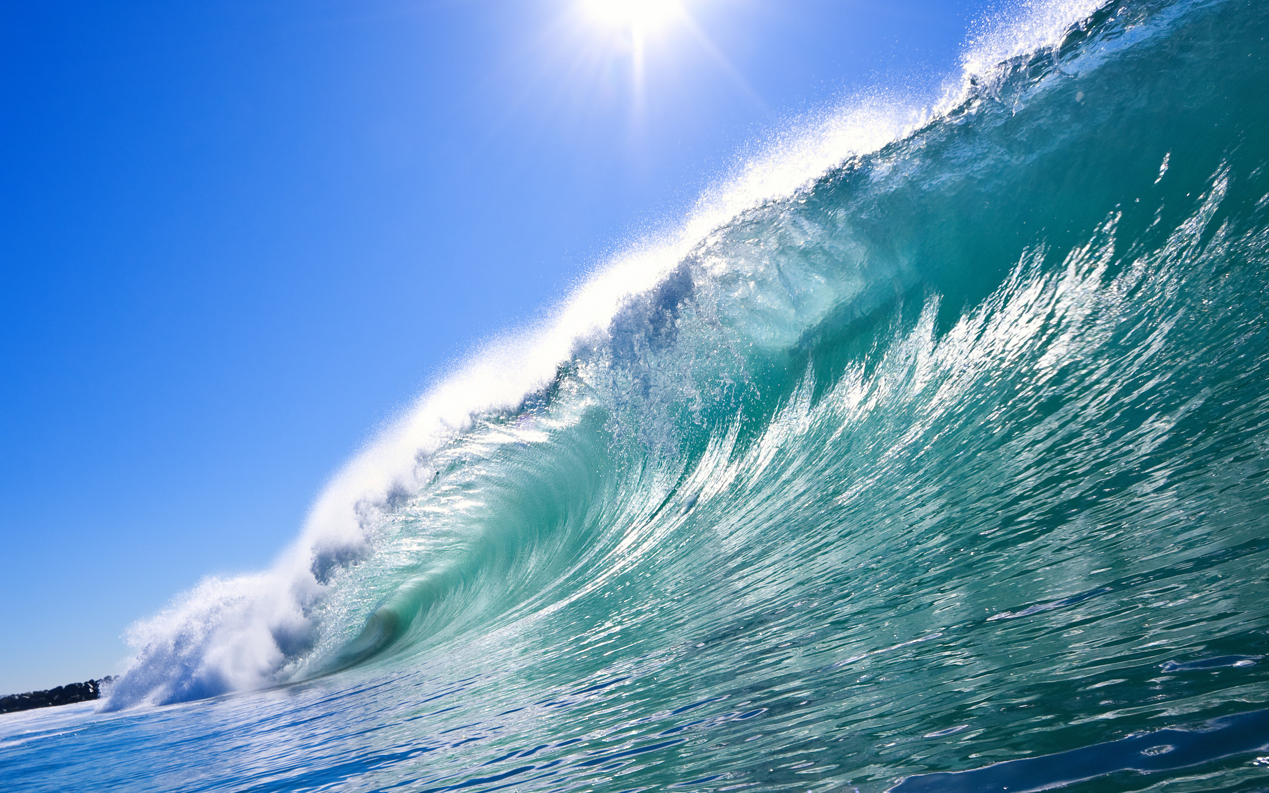 Ocean Waves Wallpaper Desktop 3