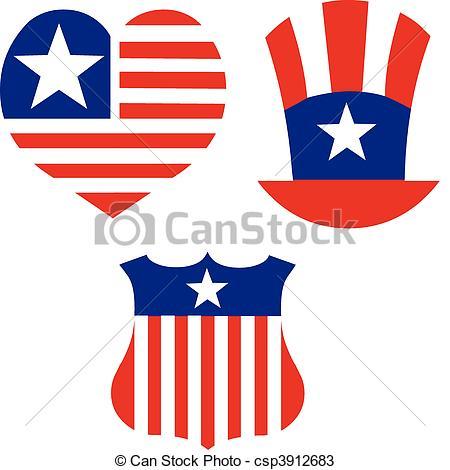 Patriotic Symbols Clip Art 5