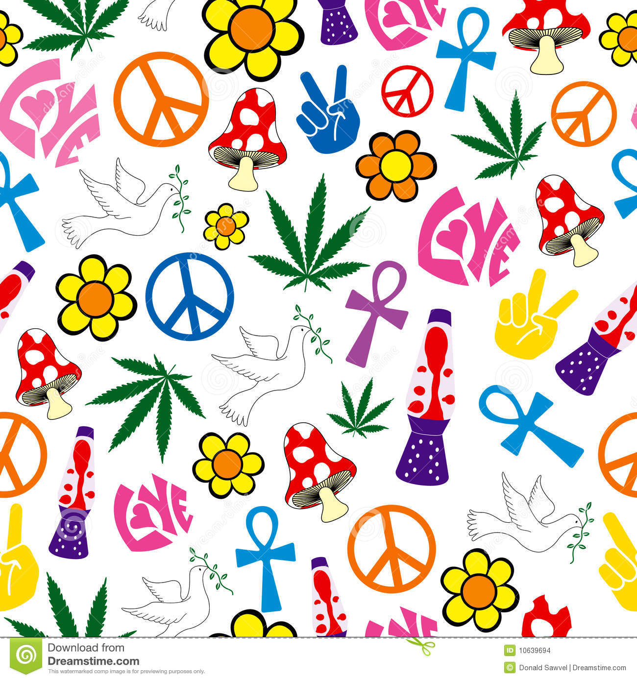 Peace And Love Backgrounds 5