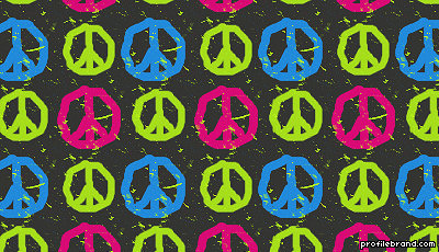 Peace Backgrounds For Myspace 4
