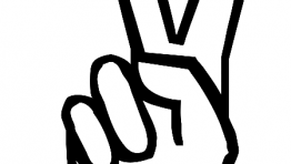 Peace Sign Hand Hippie 3