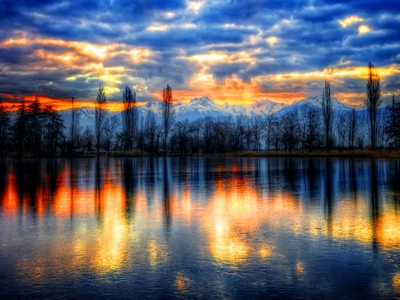 Peaceful Nature Sunset 3