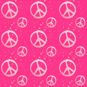 Pink Peace Sign Backgrounds 3