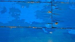 Blue Wood Wall Panel