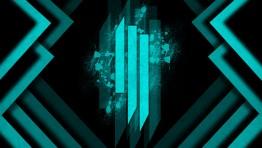 Skrillex Logo Blue