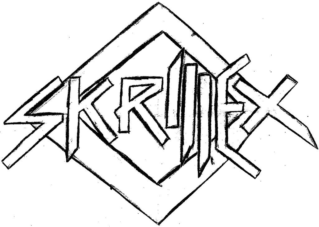 Skrillex Logo Drawing