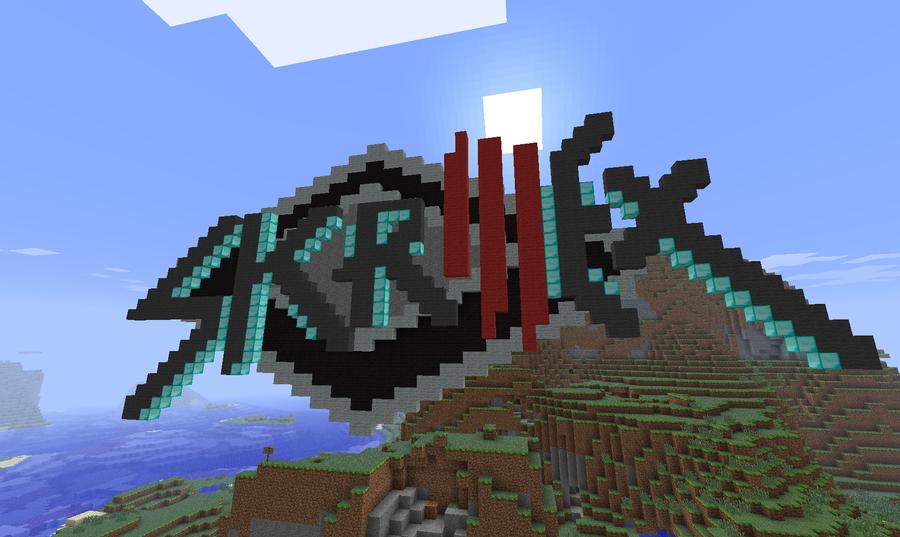 Skrillex Logo Minecraft 1