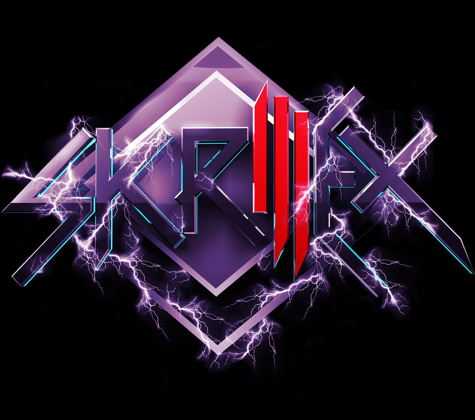 Skrillex Logo Purple 1