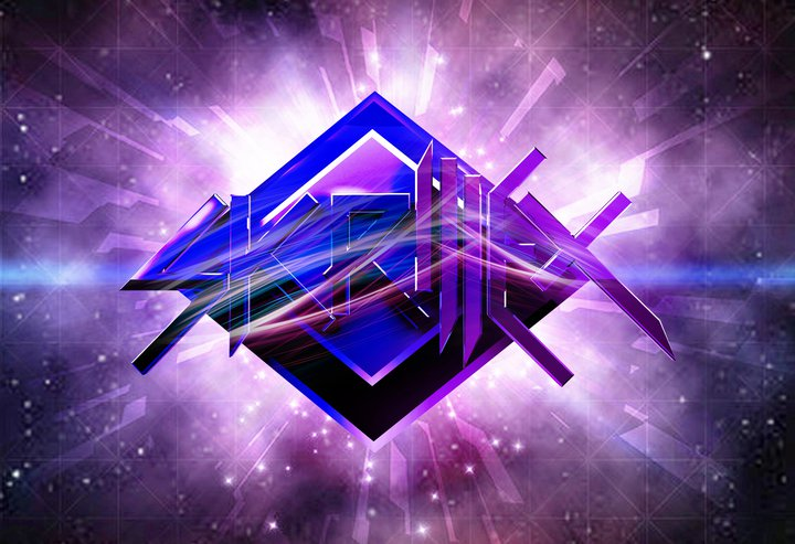 Skrillex Logo Purple 2