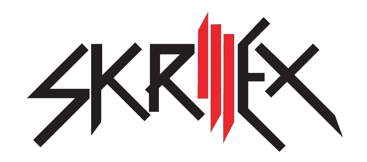 Skrillex Symbol Black And White 2